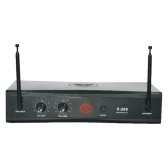 SHOW X-200R V.H.F quartzlocked control wireless MIC system